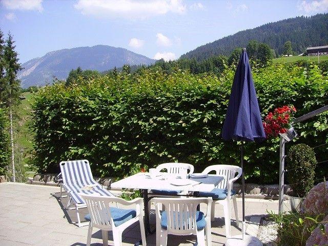 gemütliche Sitzgarnitur Terrasse - Fieberbrunn