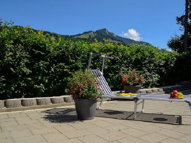 Neue Terrasse Appartement Christine Fieberbrunn