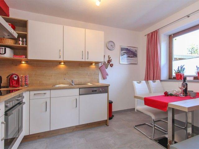 Ferienwohnung Küche mit Sitzecke