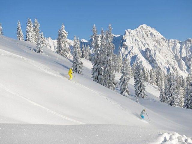 Skifahren in Leogang