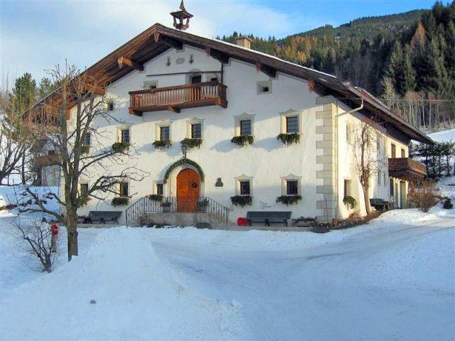 Winter-bauernhof