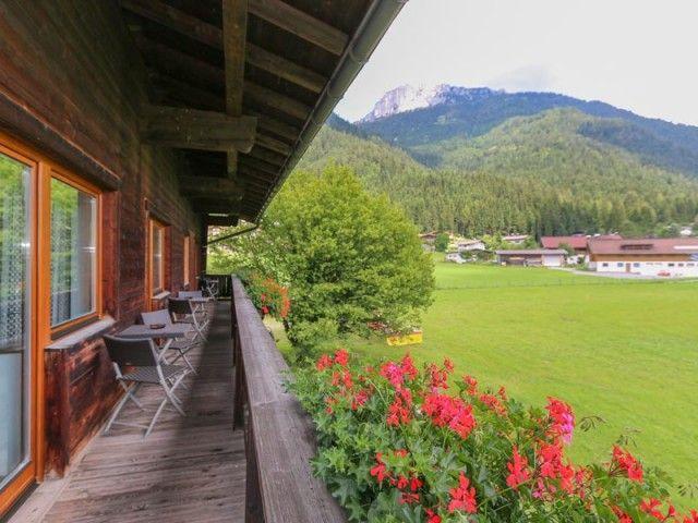 Balkonblick beim Hasenberghof