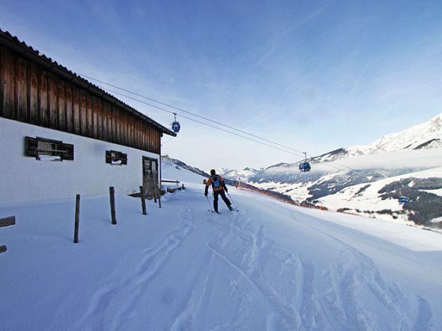 Skiurlaub auf der Alm