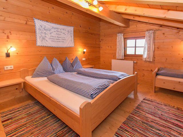 Schlafzimmer auf der Alm