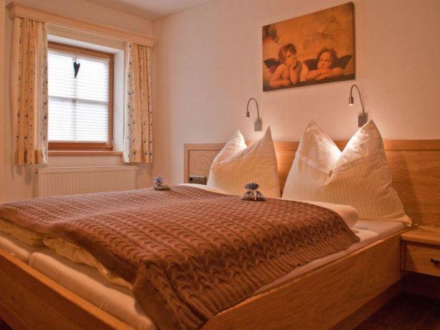 Schlafzimmer am Ferienbauernhof