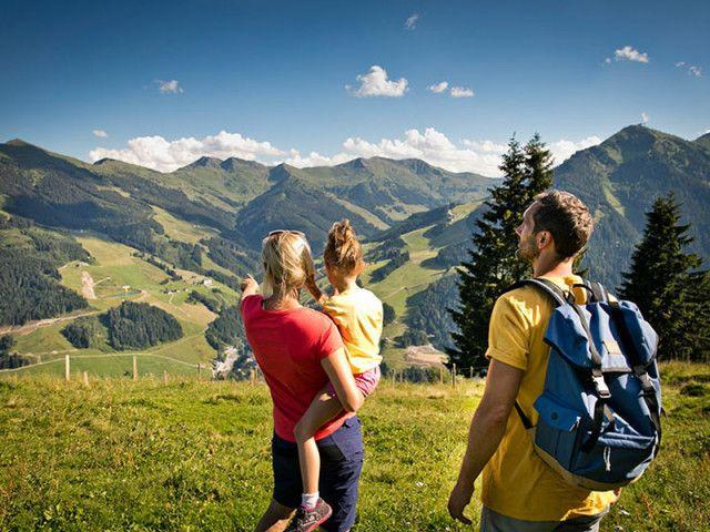 Familienurlaub in Saalbach