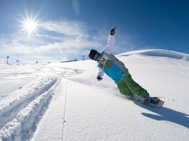Snowboarden in Lofer