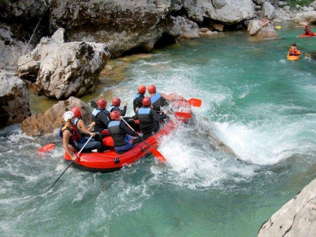 Raftin im Sommerurlaub in Weißbach