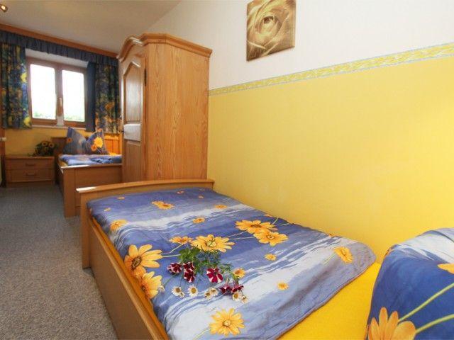 Einzelbettzimmer in der Ferienwohnung