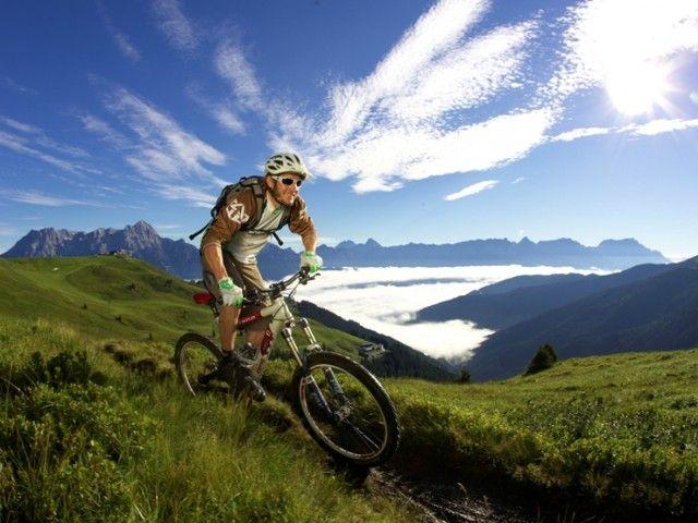 Mountainbiken in Saalbach