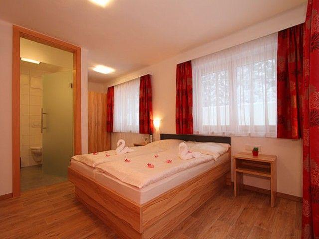 Schlafzimmer der Ferienwohnung1