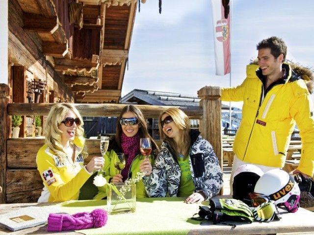 Après-Ski Skiurlaub Saalbach