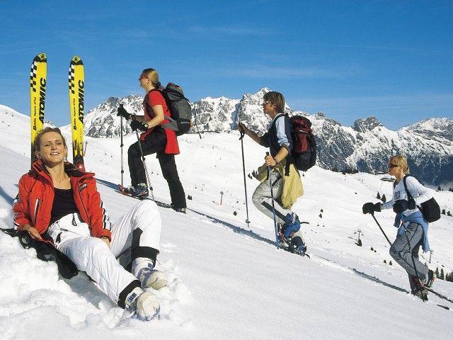 Leogang Skiurlaub mit der Familie
