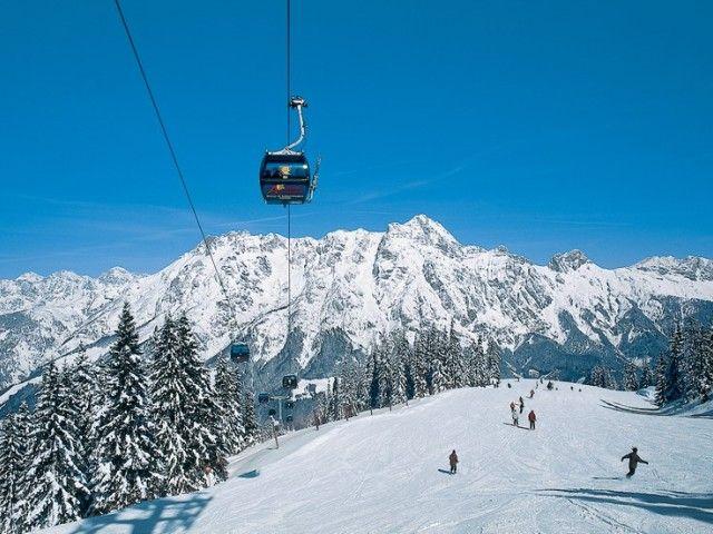 Skigebiet Leogang