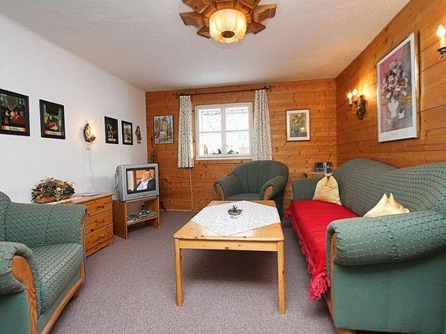 Ferienhaus Wohnzimmer St. Jakob